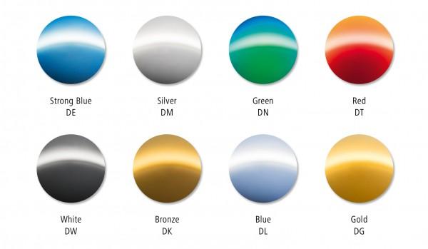 2 ZEISS Einstärken - Sonnenschutzgläser VERSPIEGELT inkl. DuraVision Mirror UV